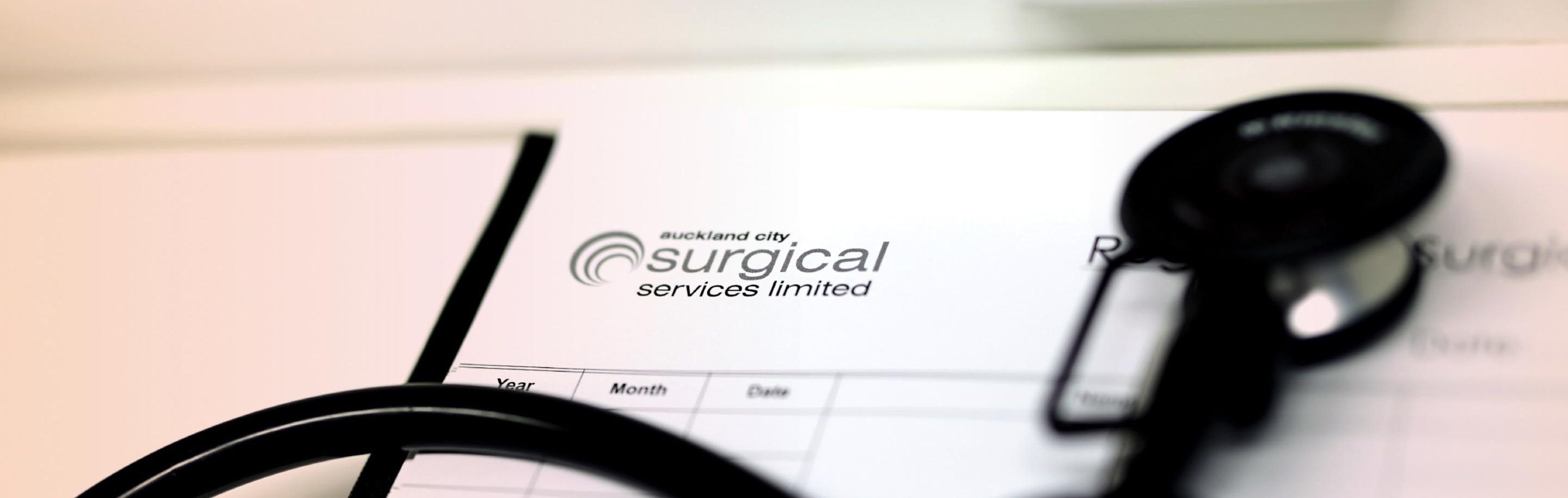 Auckland City Surgical Services - patient information